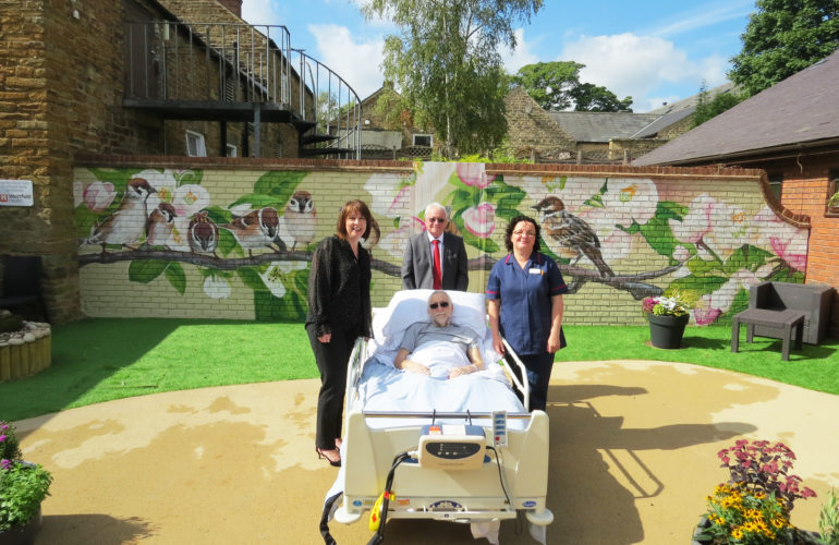 Hospice opens dementia-friendly garden