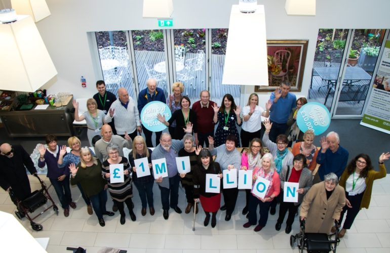 Your Hospice Lottery raises over £1 million for hospice