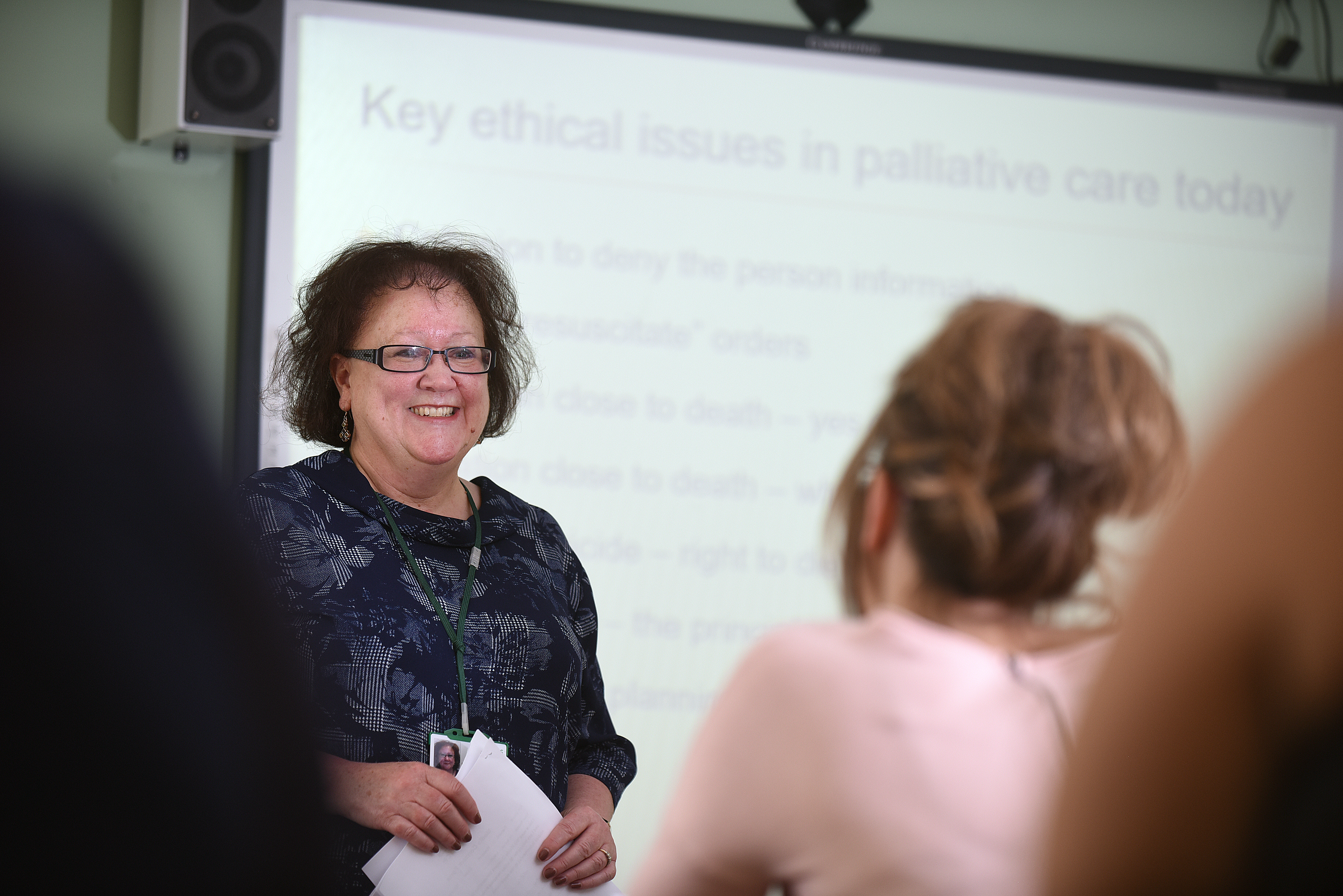 How training young people can help dispel hospice myths