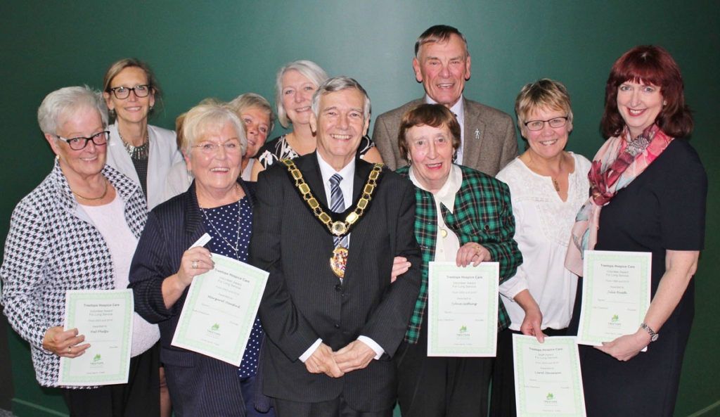 Treetops celebrates 340 years of long service awards for staff and volunteers