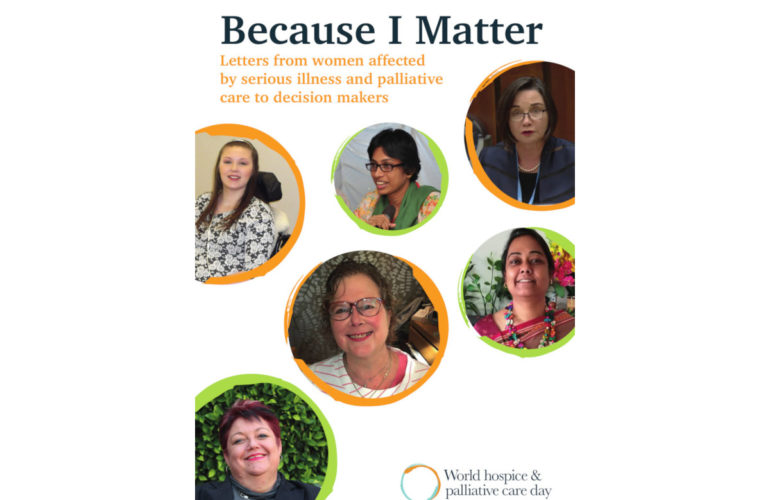 Women affected by serious illness call on decision makers to take a leading role to advance palliative care
