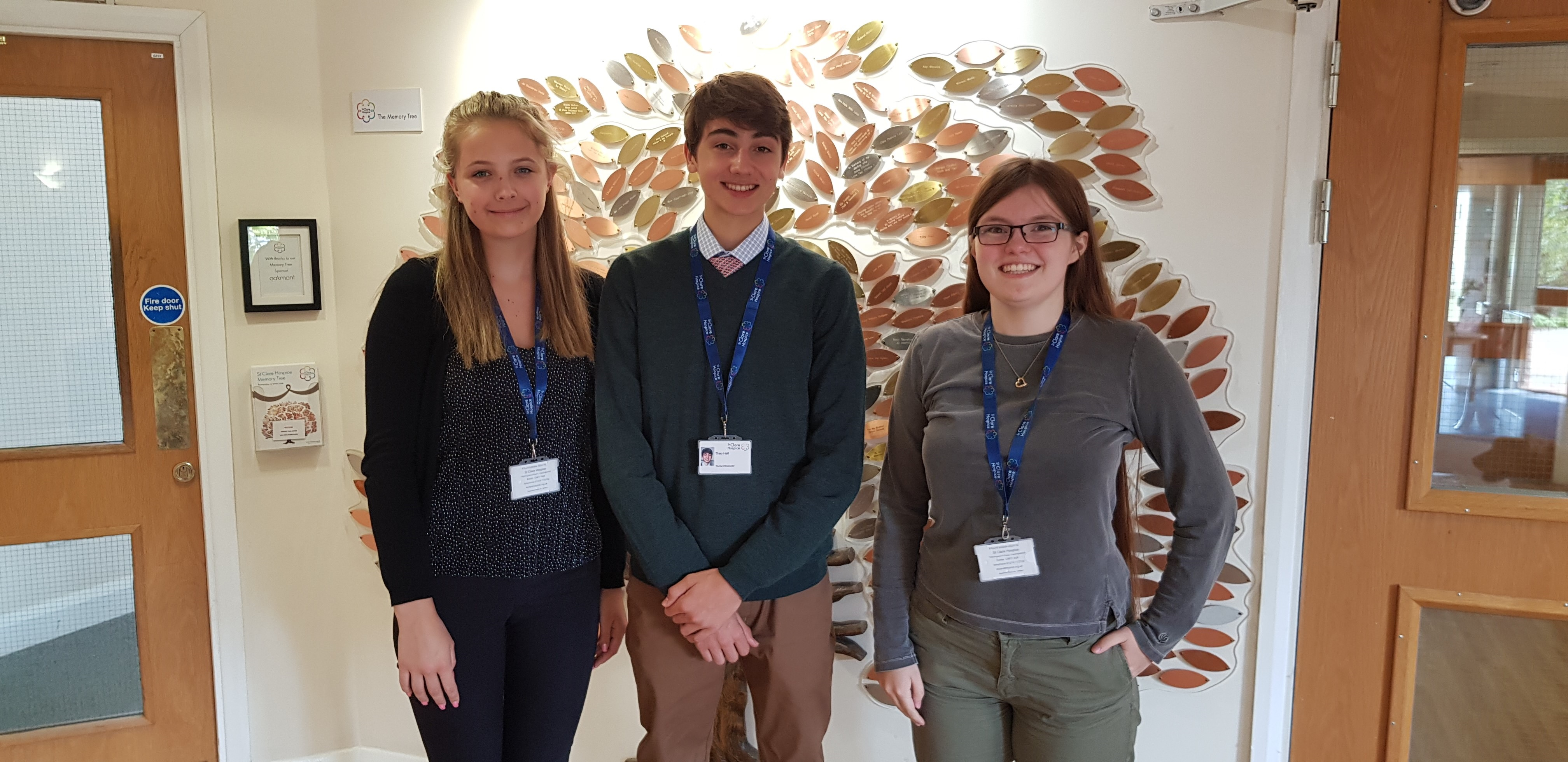 Hospice welcomes new Young Ambassadors