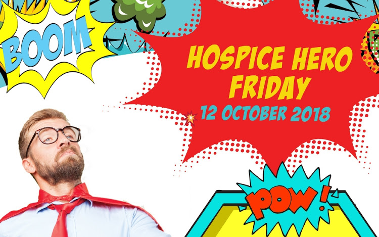 Be a superhero for St Francis Hospice - buy a sticker