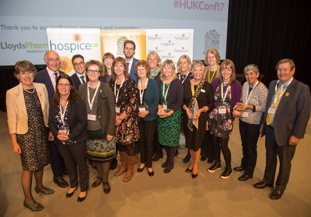 Inspiring winners of Hospice UK 2017 awards