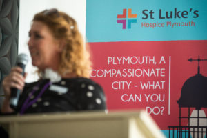 Picture by Paul Slater/PSI - Copyrighted Image - No resale or transfer to 3rd parties without prior consent from Copyright  Owner Contact 07512838472.  PICTURE CAPTION -  Plymouth, A Compassionate City - Conference 2018 - held at Boringdon Golf Club.  Hazel Roberts - Clinical Manager in Harbour Drug and Alcohol Services, Livewell Southwest.