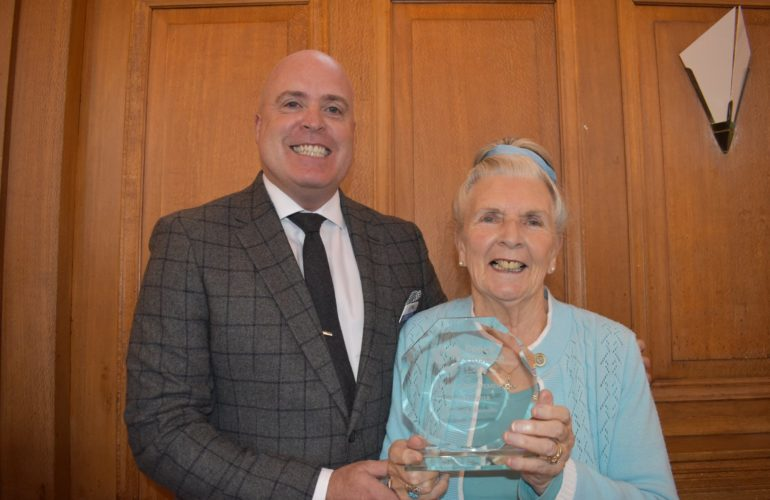 Hospice volunteers win awards for their dedication