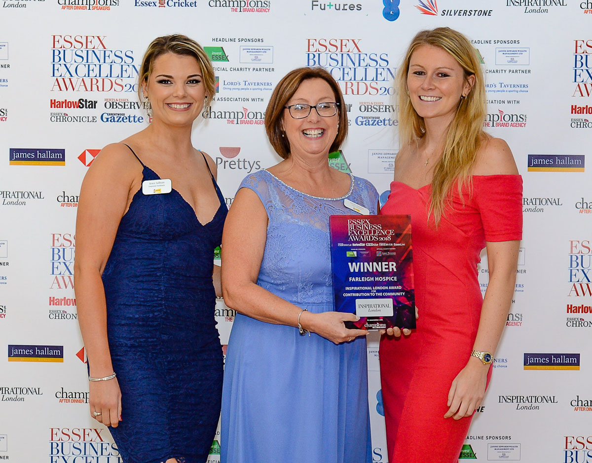 Farleigh Hospice wins prestigious business award second year in a row