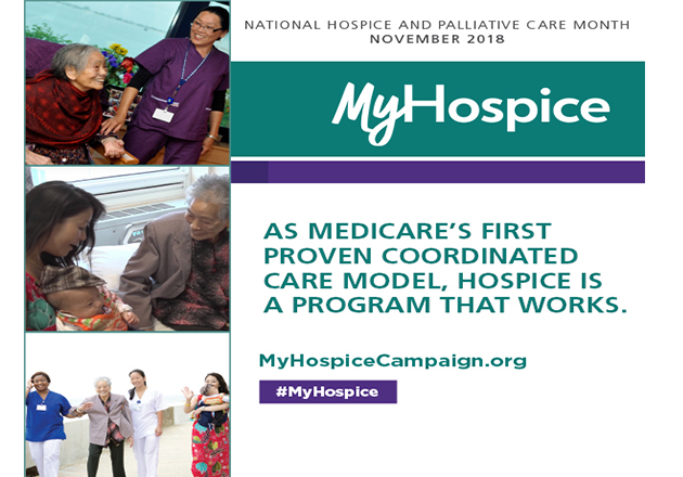 NHPCO Celebrates National Hospice and Palliative Care Month by Helping Americans Understand the Success of Hospice