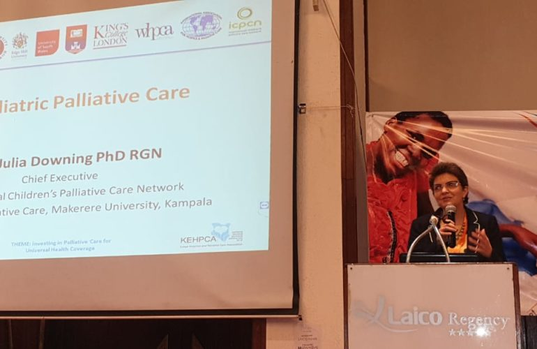 Focus on Children's Palliative Care at the Kenyan National Palliative Care Conference 2018