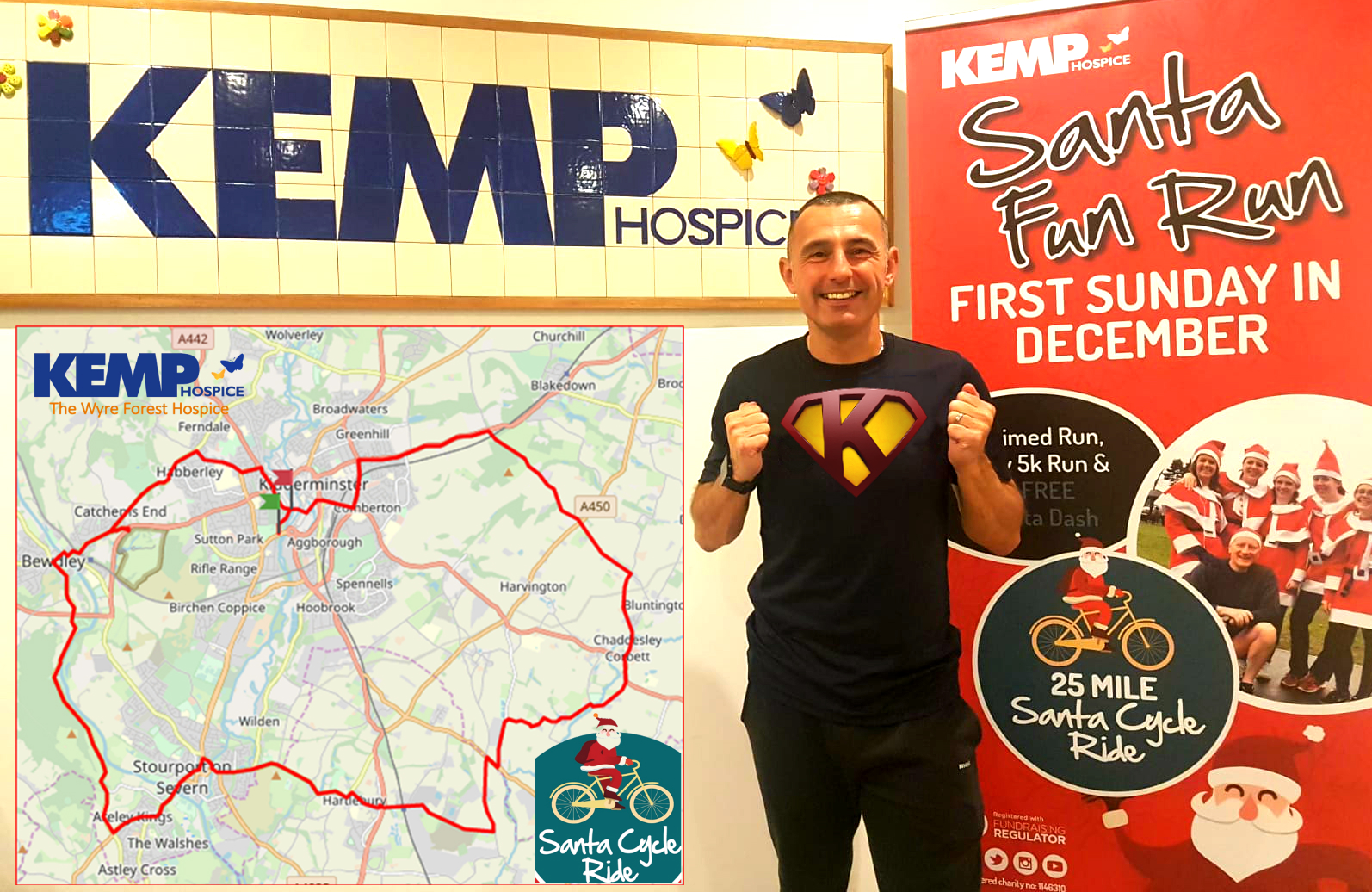 Runner takes on record-breaking challenge for hospice
