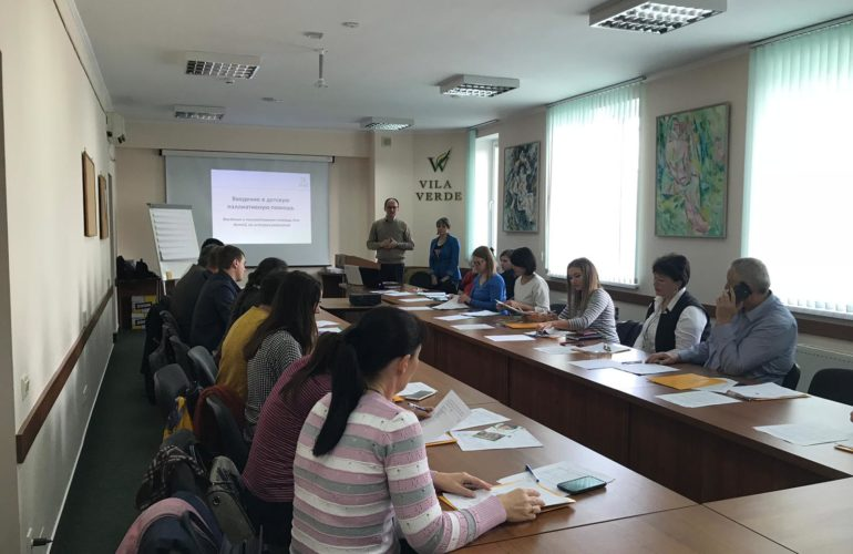 Training for professionals on children's palliative care in Moldova