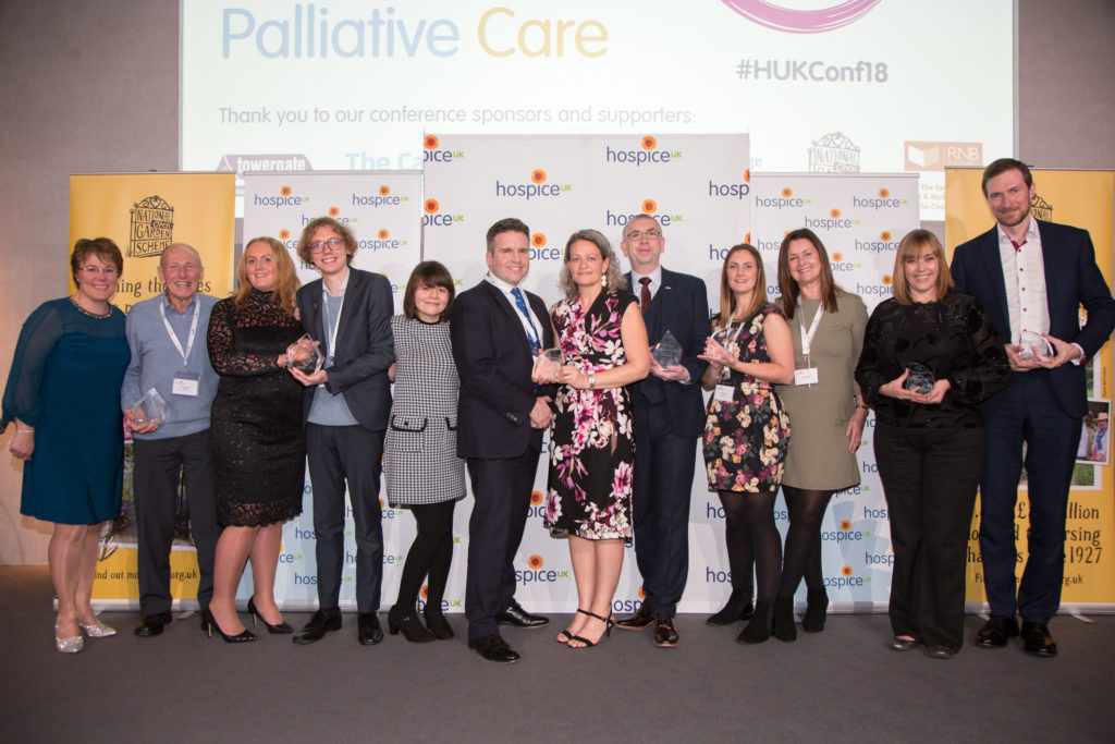 Inspirational winners of Hospice UK 2018 awards