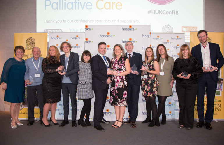 Inspirational winners of Hospice UK 2018 awards