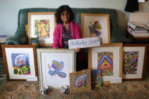 Photo 1 - Hospice patient donates lifetime of artwork to raise funds