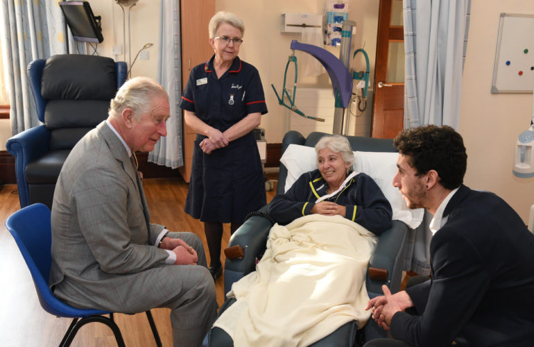 HRH The Prince of Wales makes visit to hospice ahead of Christmas