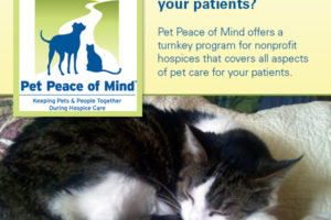 Pet Peace of Mind, Inc. recently received a $50,000 grant from PetSmart Charities,.
