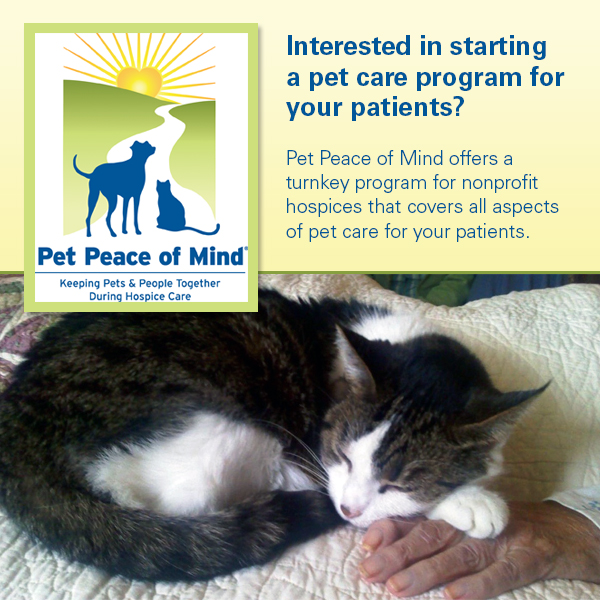 Pet Peace of Mind Receives $50,000 PetSmart Charities® Grant