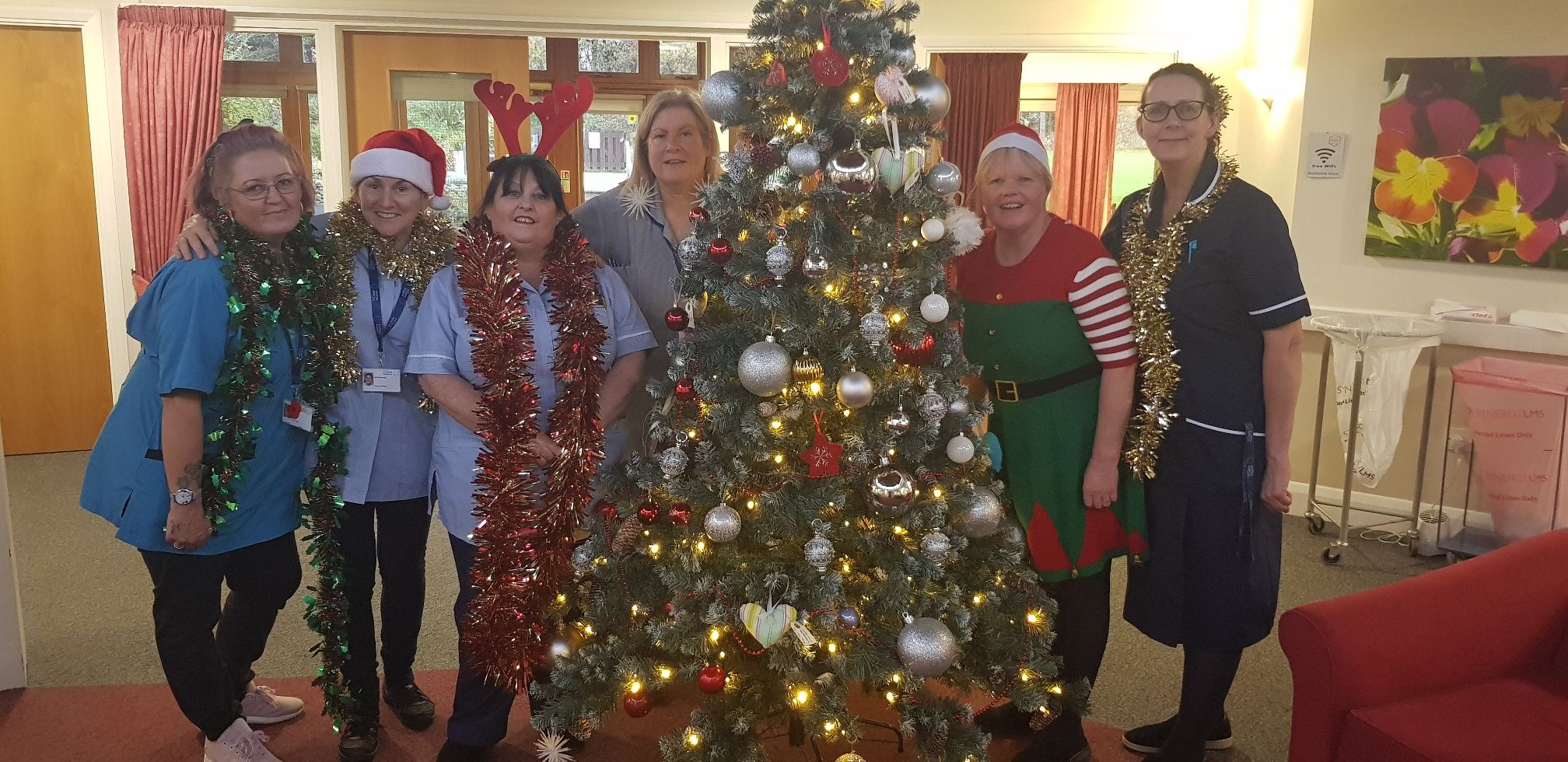 Hospice staff on working through the Christmas period