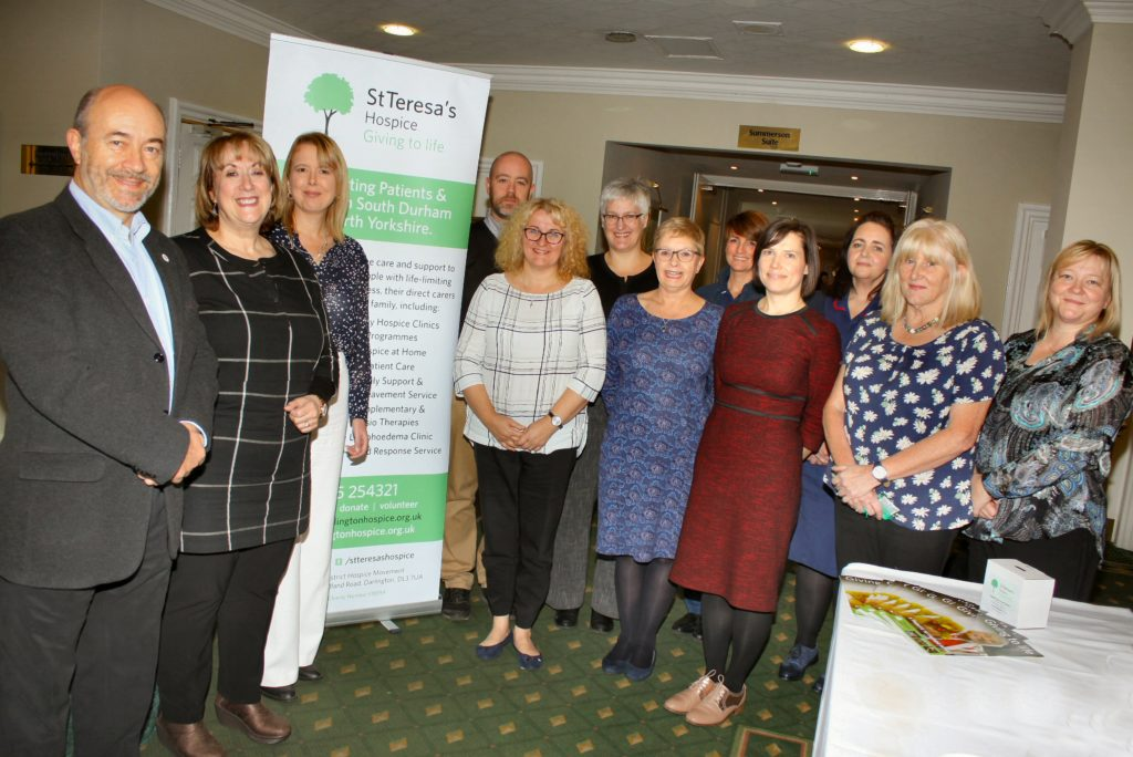 Hospice UK CEO gives keynote speech at training event for clinical staff