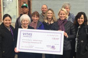 VITAS Healthcare Sacramento donation.
