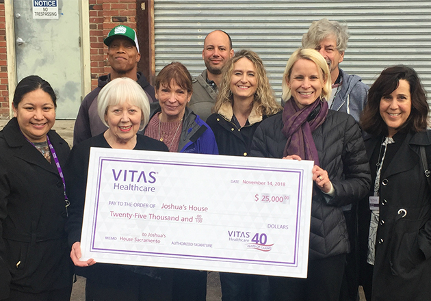 VITAS Healthcare Supports Hospice Care for Homeless
