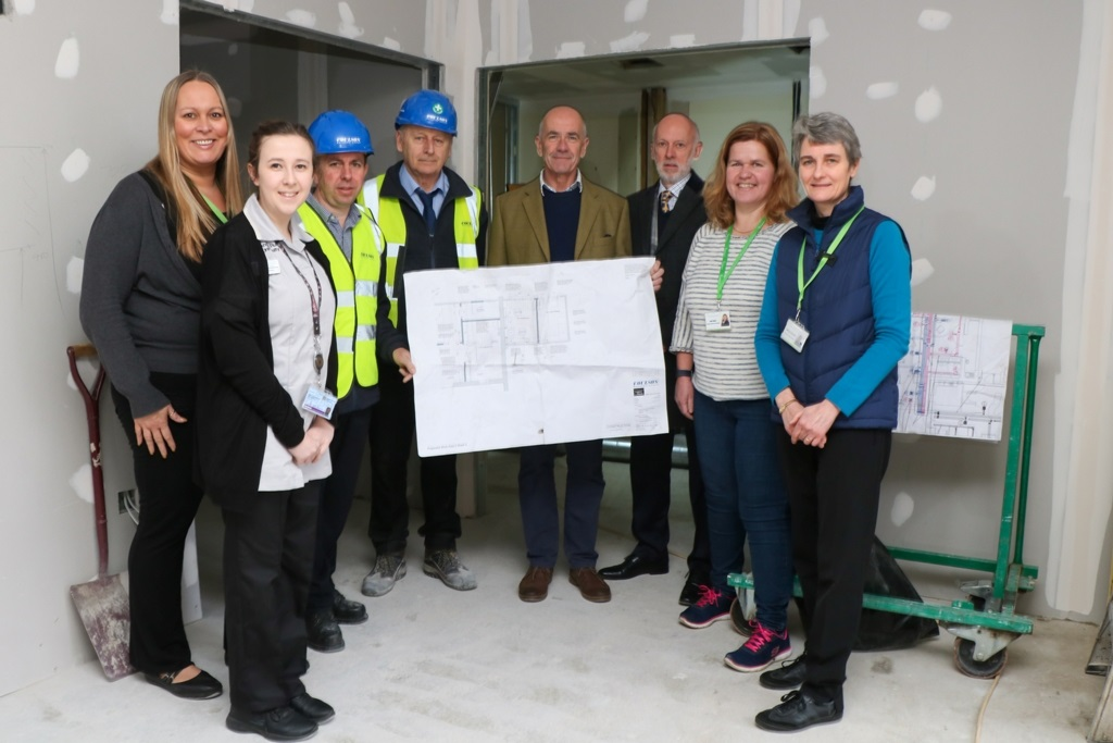 Expansion work begins at hospice day centre