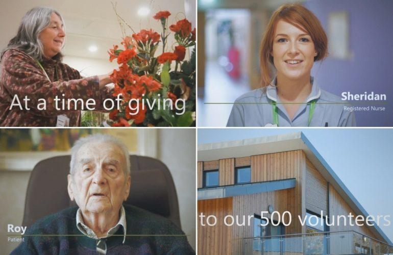Hospice shares film thanking 500 vital volunteers