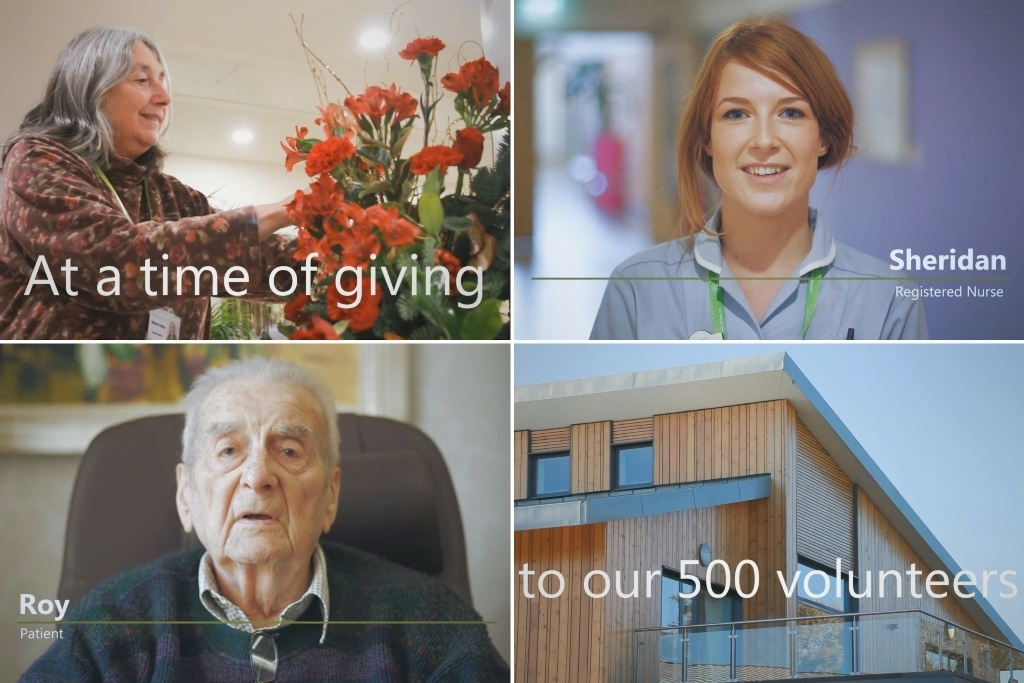 Hospice shares film thanking 500 vital volunteers
