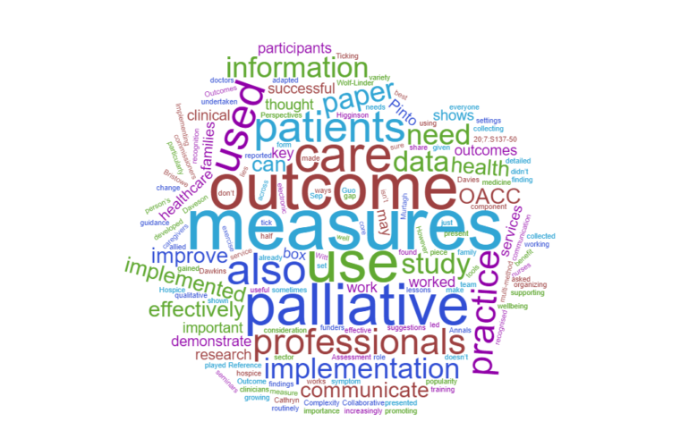 Implementing outcome measures in palliative care: what works and what doesn't