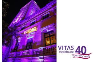 Celebrating VITAS anniversary.