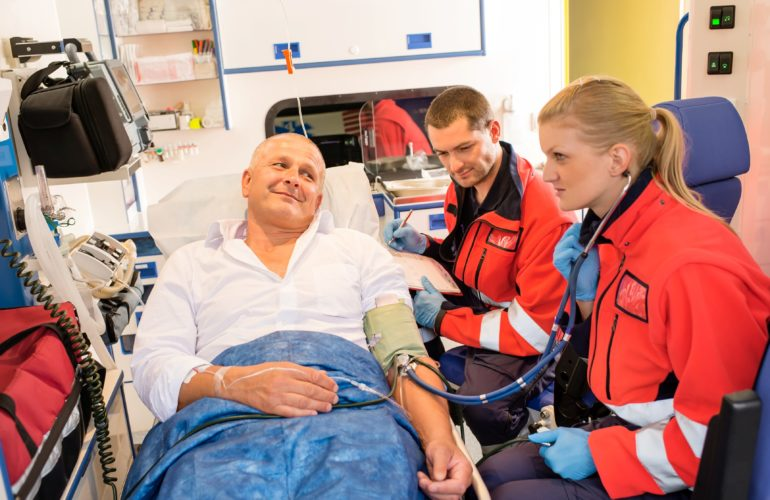 Ambulance service is improving choice in end of life care