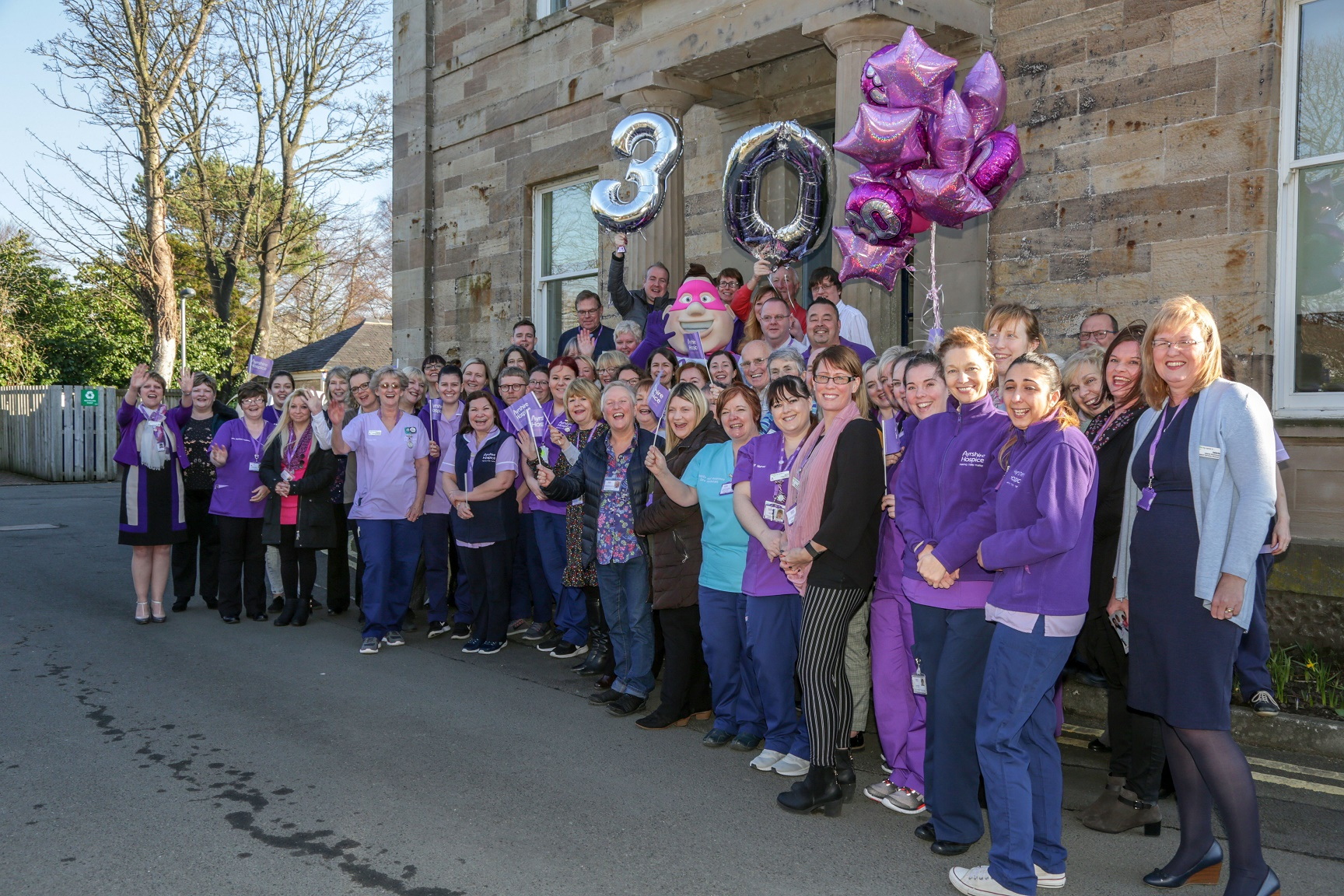 Scottish hospice marks 30th anniversary with thank you message to supporters