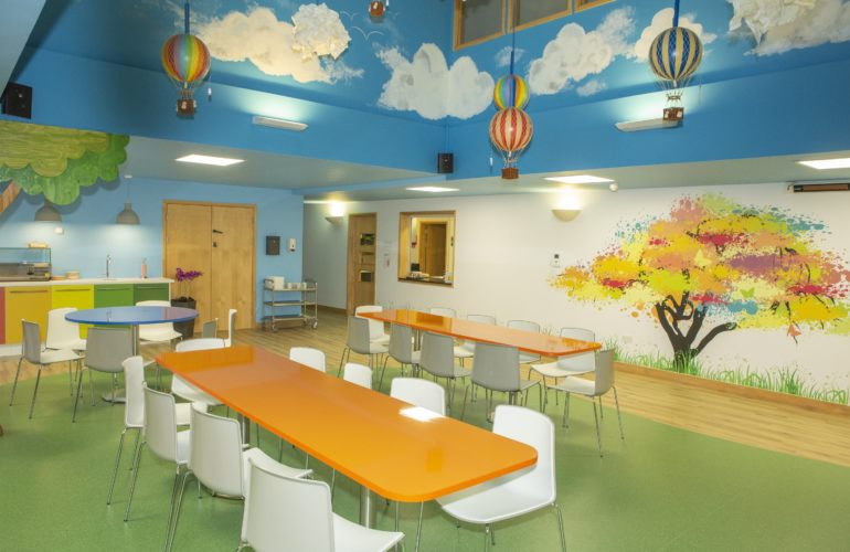 Bright new makeover for children's hospice