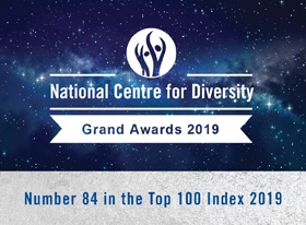 Royal Trinity is first hospice to make diversity top 100 list