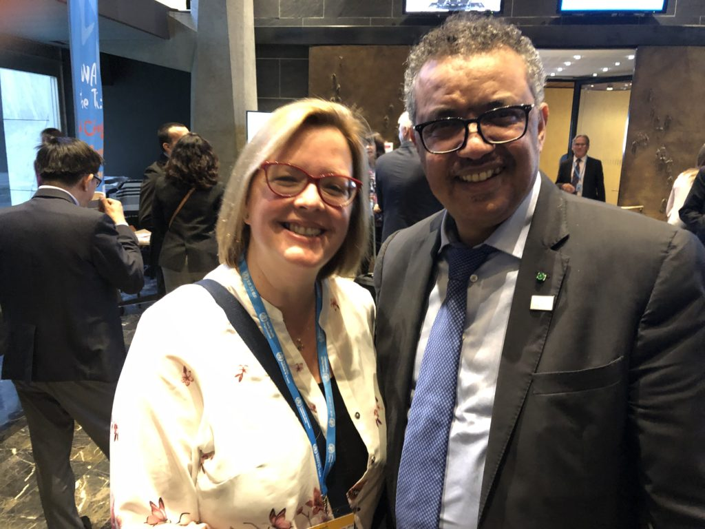 People directly affected bring advocacy to life at World Health Organization Executive Board meeting