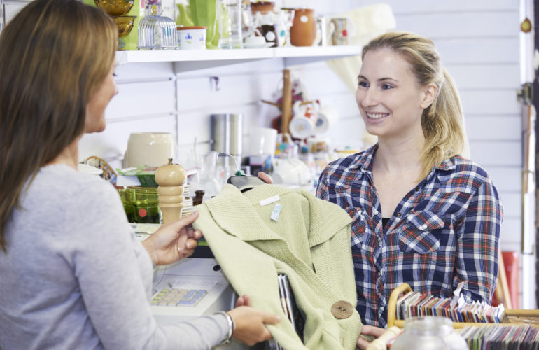 What does the state of the high street tell hospice retail?