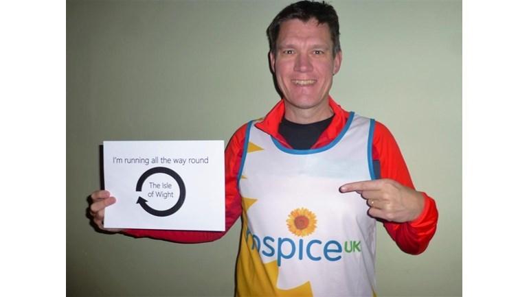 Fundraiser to run around the Isle of Wight coastline for Hospice UK