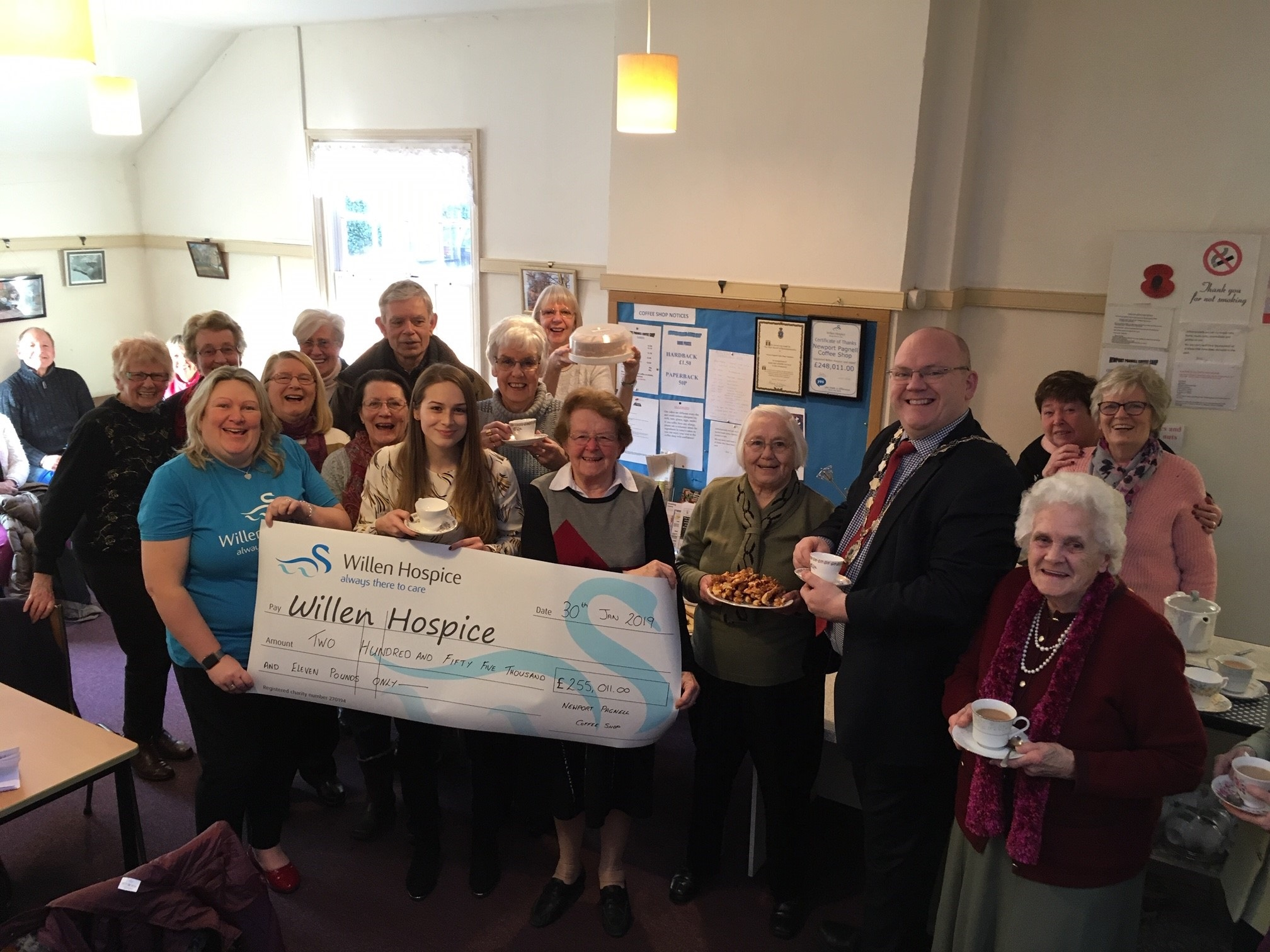 Over three decades of cake to support hospice