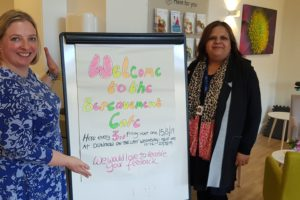 Photo 2 (L-R) St Clares Sally Muylders and Sushma Dhami