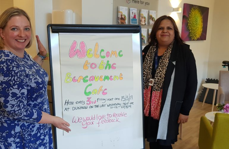 Hospice launches Bereavement Café to support people through loss