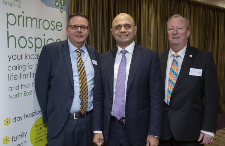 Sajid Javid announced as patron of Primrose Hospice