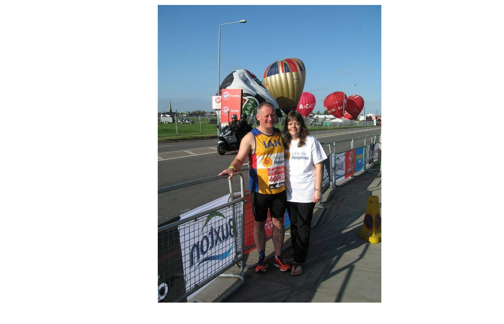 Hospice UK fundraiser set to run his eighth London Marathon for the charity