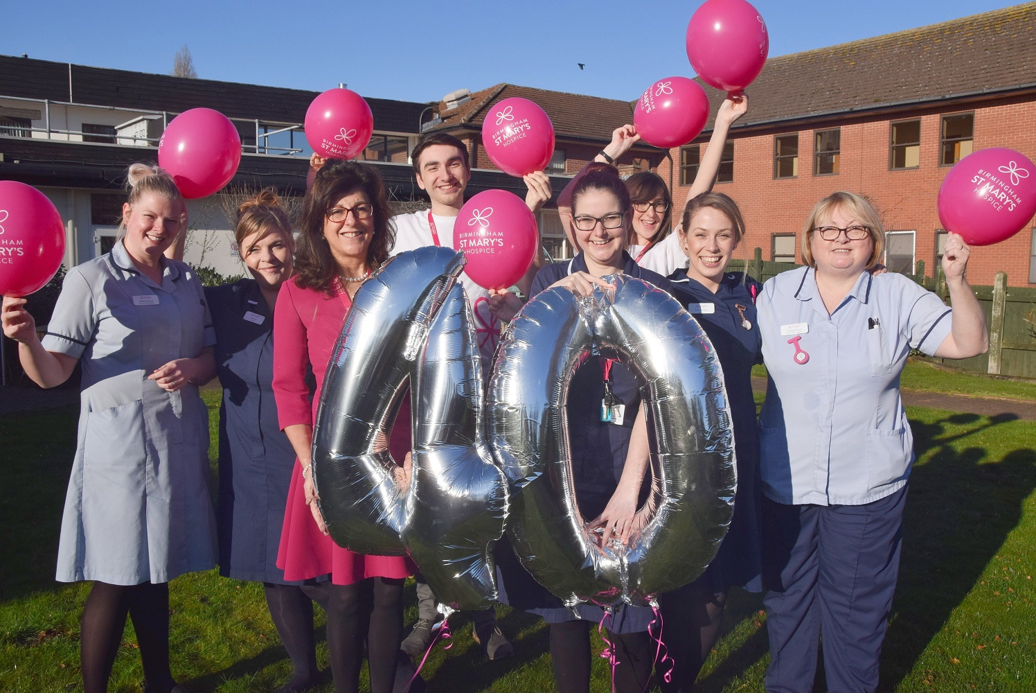 The Midlands' oldest hospice celebrates 40th anniversary
