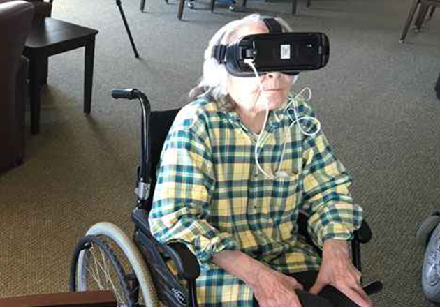 AT&T and VITAS Healthcare Launch Virtual Reality Study for Hospice Patients