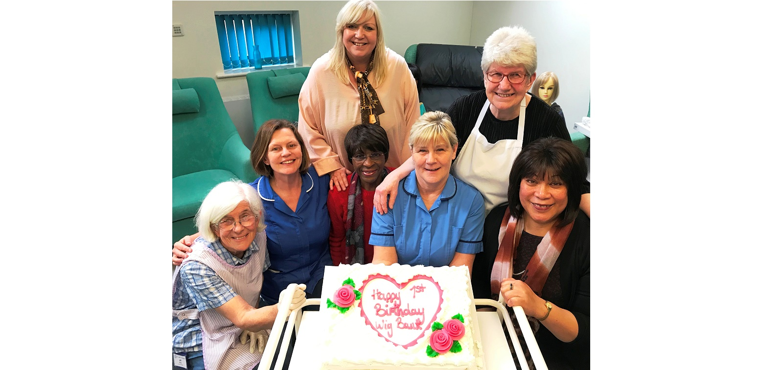 Hospice wig service celebrates a year of making a difference