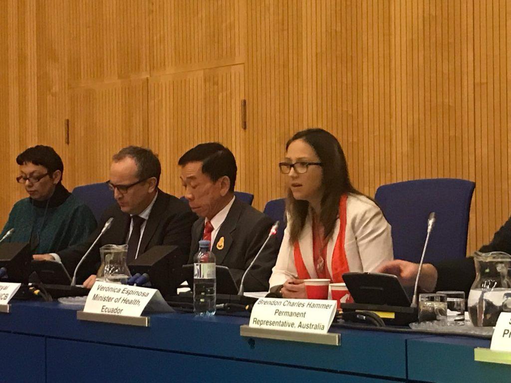 Sesión 62 de la Comisión de Estupefacientes en Viena