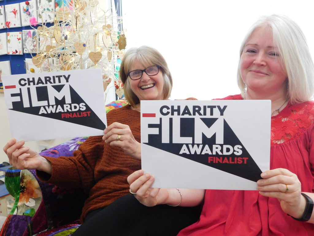 Young people's film about bereavement makes Charity Film Award final