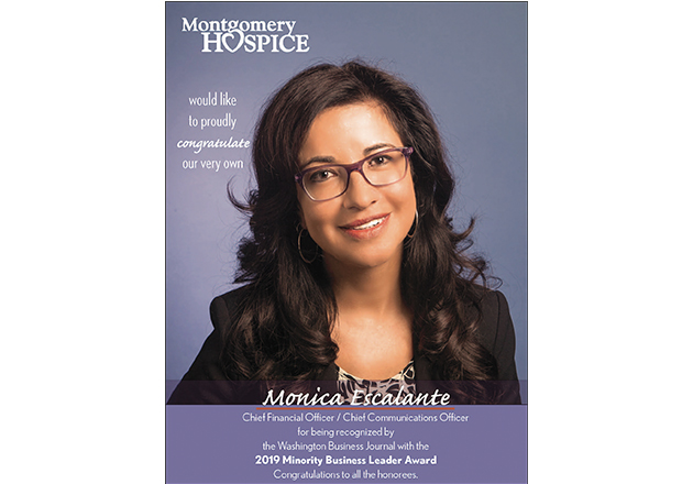 Monica Escalante announced as a recipient of 2019 Minority Business Leader Award