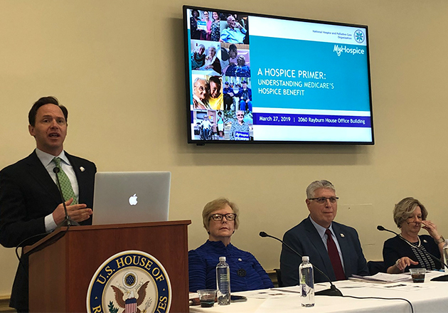 NHPCO Hosts Congressional Briefing on Value of Hospice Care
