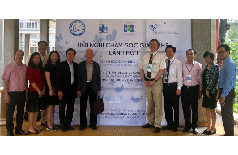 Vietnamese health sciences university trains students in palliative care